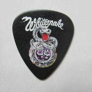 WHITESNAKE Collectors Guitar Pick - Classic 1980s Logo w Coiled White Snake