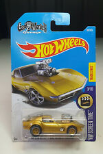 MODIFIED HOT WHEELS '68 Corvette - Gas Monkey Garage - Gold