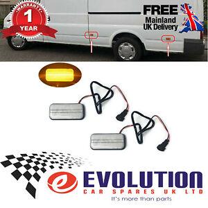 2 X Led Side Marker Light Fits Ford Transit MK6  2000 to 2014 VYC155034AC