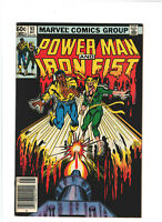 Power Man and Iron Fist #93 FN+ 6.5 Newsstand Marvel Comics Bronze Age 1983