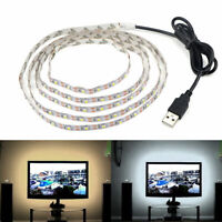 5V USB Cable 2835 LED Strip String lamp TV PC Monitor Backlight Bias light 4M