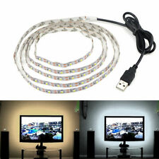 5V Cable USB 2835 tira de LED Lámpara de Cadena TV Retroiluminación sesgo de luz 4M monitor de PC