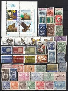 PORTUGAL COMMEMORATIVES (ref 11) USED EXCEPT BOT ROW MM