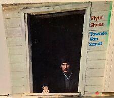 sealed TOWNES VAN ZANDT Flyin Shoes ORIG! 1978 TOM-7017
