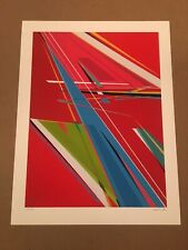 Kenor Chain Reaction Signed Numbered Limited Print Poster 50 Geometric Colorful