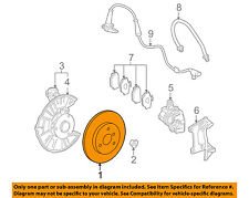 SMART OEM 08-15 Fortwo Front Brake-Disc Rotor 4514210112