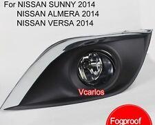 Car Fog Lamp for NISSAN SUNNY 2015/SUNNY 2014 / VERSA 2014 / ALMERA 2014 One set