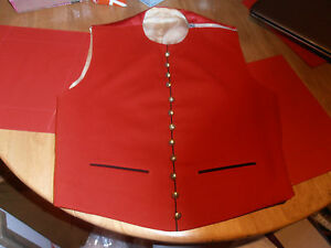 """1960s Army Physical Training Corps Officer's  Mess Dress Waistcoat Size 36-38"""""""