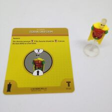 Heroclix Teen Titans set Robin Uniform #S101/R101 Utility Belt Costume w/card!