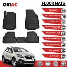 Floor Mats Liner 3D Molded Black Set Fits Buick Encore 2013-2020