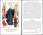 HOLY CARD SANTINO IMAGE PIEUSE - B. GIOVANNANGELO PORRO - dei servi di Maria