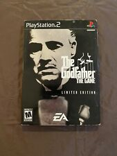 The Godfather The Game Limited Edition PS2 FREE FAST SHIPPING!!