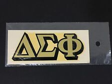 TRUE Vintage 1970's Delta Sigma Phi Fraternity Auburn University Water Decal