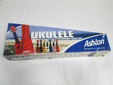 Ashton Ukelele, Model UKE 100, Red, boxed G1