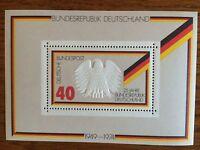 Briefmarken BRD 1974 * Block 10 * 25 Jahre Bundesrepublik Deutschland postfrisch