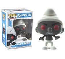 Funko pop Pitufo negro figura 10 cm Gnap Smurf