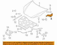 Genuine Genesis Coupe 2010-2016 Hood Hinge Left Driver OEM 791102M000