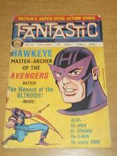 FANTASTIC #74 BRITISH WEEKLY 13TH JULY 1968 HAWKEYE AVENGERS^