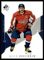2018-19 UD SP Authentic Base #1 Alexander Ovechkin