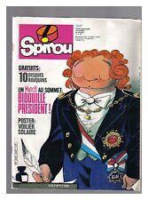 SPIROU N°   2247 07/05/1981 BE sans poster PUB CONCOURS LEGO