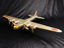 WW2 USAAF ART DECO TRENCH ART DESK MODEL AIRPLANE BOEING B17 FLYING FORTRESS