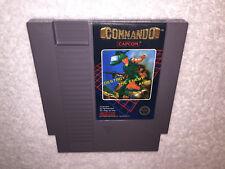 Commando (Nintendo Entertainment System, 1986) NES Game Cartridge Excellent!