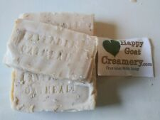 3 Bars Lavender Oatmeal Goat Milk Soap Happy Goat Creamery Pure Essential Oil