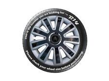 "14""  Citroen C1 C2 C3 Berlingo Wheel Trims 4x14 Set of 4 New Black & Silver"