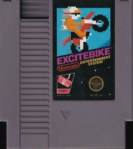 EXCITEBIKE (1985) nes nintendo black-label classic us NTSC USA IMPORT