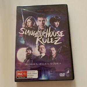*New Sealed* Slaughterhouse Rulez (DVD, 2018) Finn Cole Region 4&2