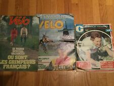 '77 '79 '81 Miroir du Cyclisme Velo Cycling Magazine Maertens Hinault Merckx