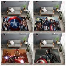 Marvel Avengers Round/Square Non-slip Mat Floor Rug Home Carpet Room Door Mats