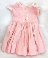 Binnie Walker Doll Dress Madame Alexander Pretty Pink Vintage As Is