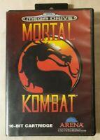 Mortal Kombat SEGA MEGA DRIVE 1992 vs Fighter Midway / Acclaim / Arena