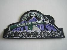 1998 MLB Colorado Rockies All-Star Game Logo Patch