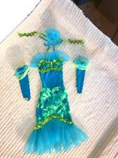 "Green & Blue Youth ""Mermaid"" Character Dance Costume"