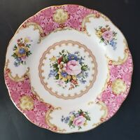 """Royal Albert Lady Carlyle 6.25"""" Bone China Bread & Butter Plate NEW W TAG"""