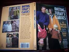 Knitting Today's Classics Book by Kristin Nicholas