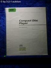 Sony Bedienungsanleitung CDP XE900 / XE800 / XE700 CD Player (#0899)