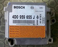 AUDI A8 / S8 AIRBAG CONTROL MODULE UNIT 4D0959655J