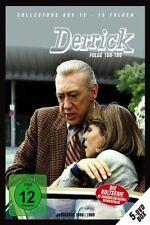5 DVDs * DERRICK - COLLECTOR'S BOX 12 | HORST TAPPERT - FRITZ WEPPER # NEU OVP !