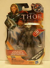 MARVEL UNIVERSE THOR THE MIGHTY AVENGER  Fire Blast Marvel's  DESTROYER  Figure