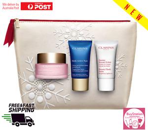 Clarins Multi Active Day Cream 50ml + Night Cream15ml+Beauty Flash Blam 15ml