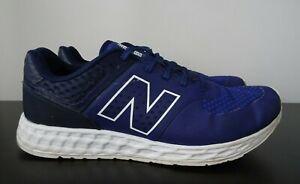 Mens New Balance 574 Fresh Foam Blue Trainers - UK 10