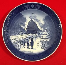 Royal Copenhagen Christmas Collector Plate, 1973, Going Home for Christmas