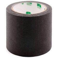 """4"""" Black Binding Tape Colored Premium-Cloth Book Binding Repair Tape 15 Yard"""