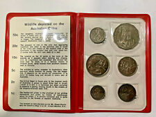 1974 Royal Australian Mint Coin Mint Set - Circulating Coin Design