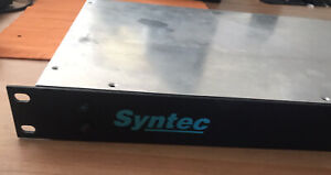 Syntec SCSI drive enclosure (rack mountable, 1RU)