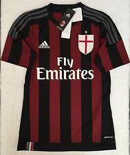 Adidas AC Milan Soccer Jersey Adult Size: S
