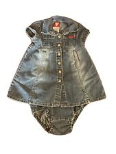 Baby Guess Vintage Blue Jean Dress 18 Months